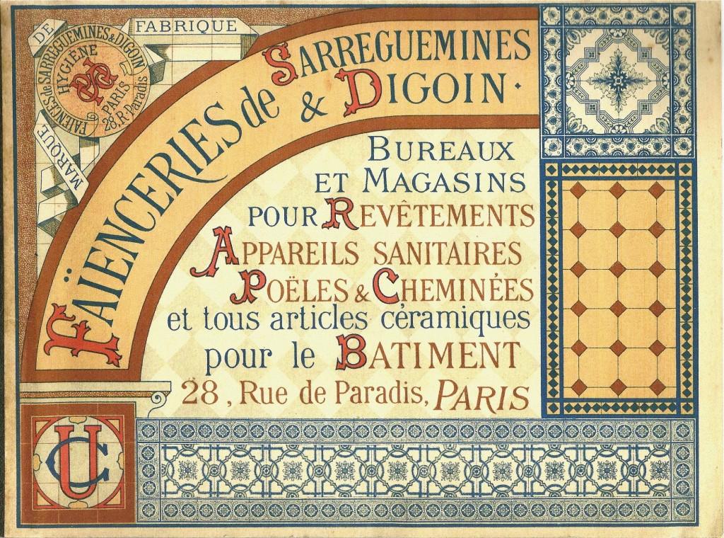 Sarreguemines catalogue sanitaire Couverture