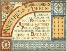 Un catalogue à Sarreguemines