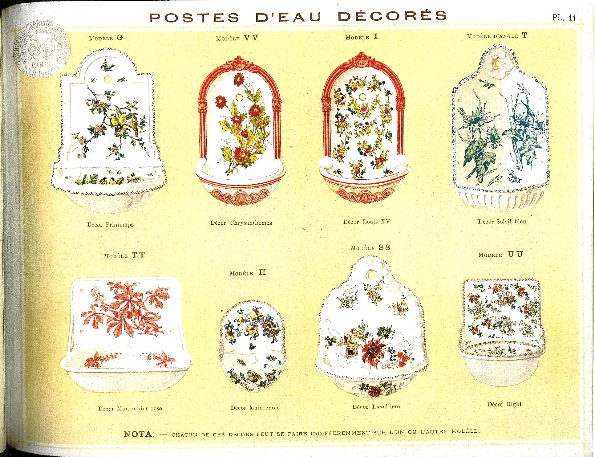 catalogue de la manufacture de sarreguemines alain benedick