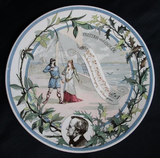 Sarreguemines assiette Wagner