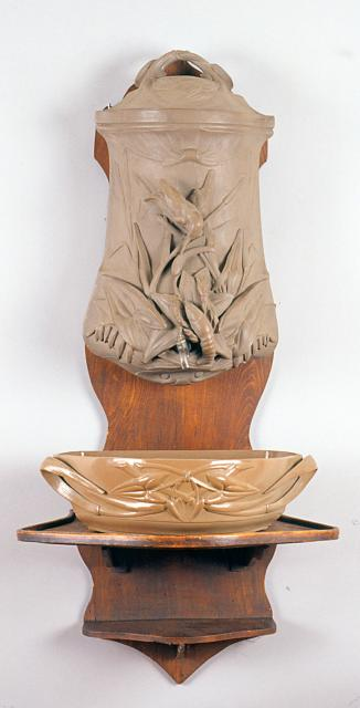Fontaine « Écrevisse », grès, n° 236
