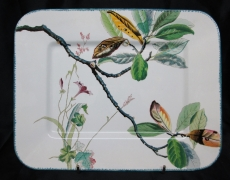 Le décor « Bouquets » à Sarreguemines