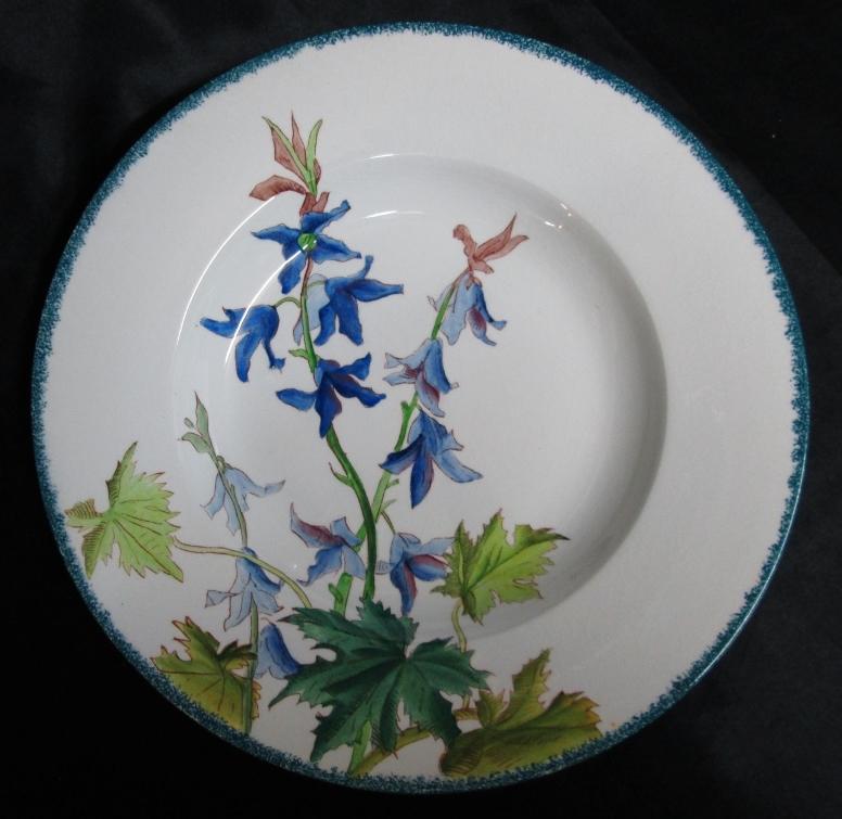 Le d cor bouquets sarreguemines alain benedick for Decoration sur porcelaine