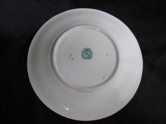 Sarreguemines beurrier porcelaine 216 cachet