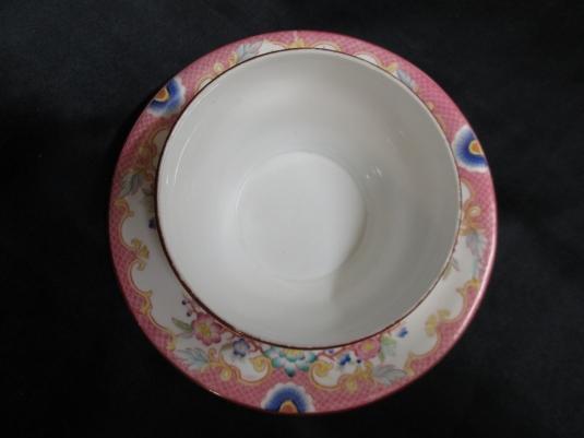 Sarreguemines beurrier porcelaine 216