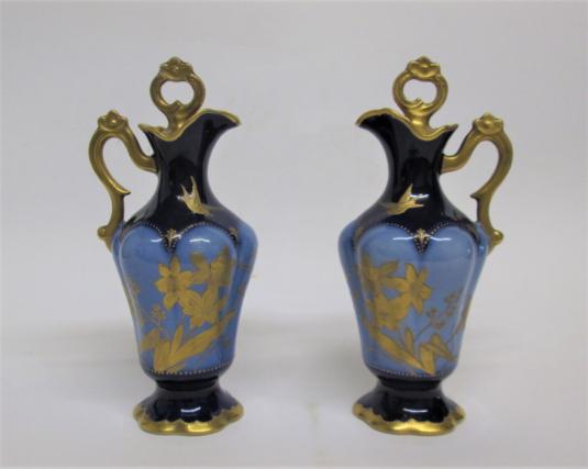 Limoges, flacons de parfum L. Monery