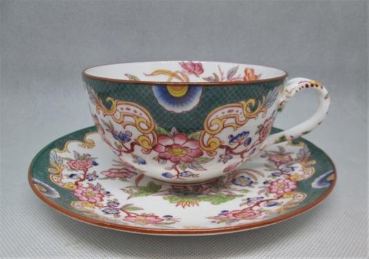 Sarreguemines porcelaine tasse déjeuner 215 génieu
