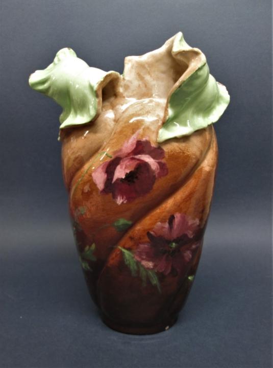 vase massier vallauris JMF art nouveau